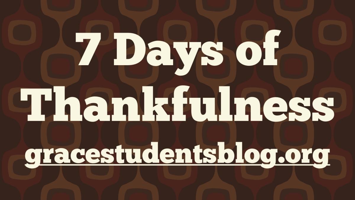 7 Days of ThankfulnessChallenge