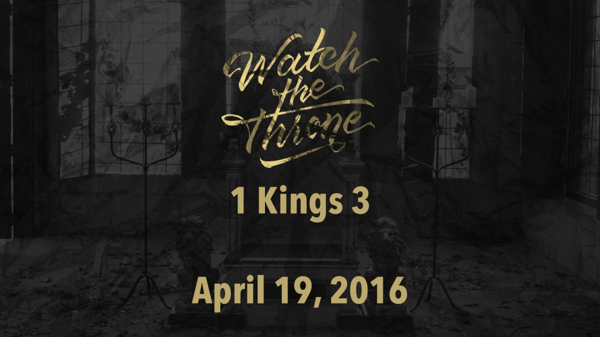 Watch The Throne Reading- April19