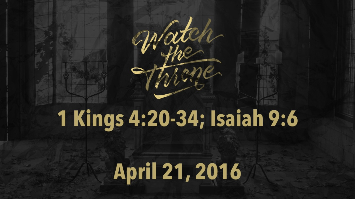 Watch The Throne Reading- April21