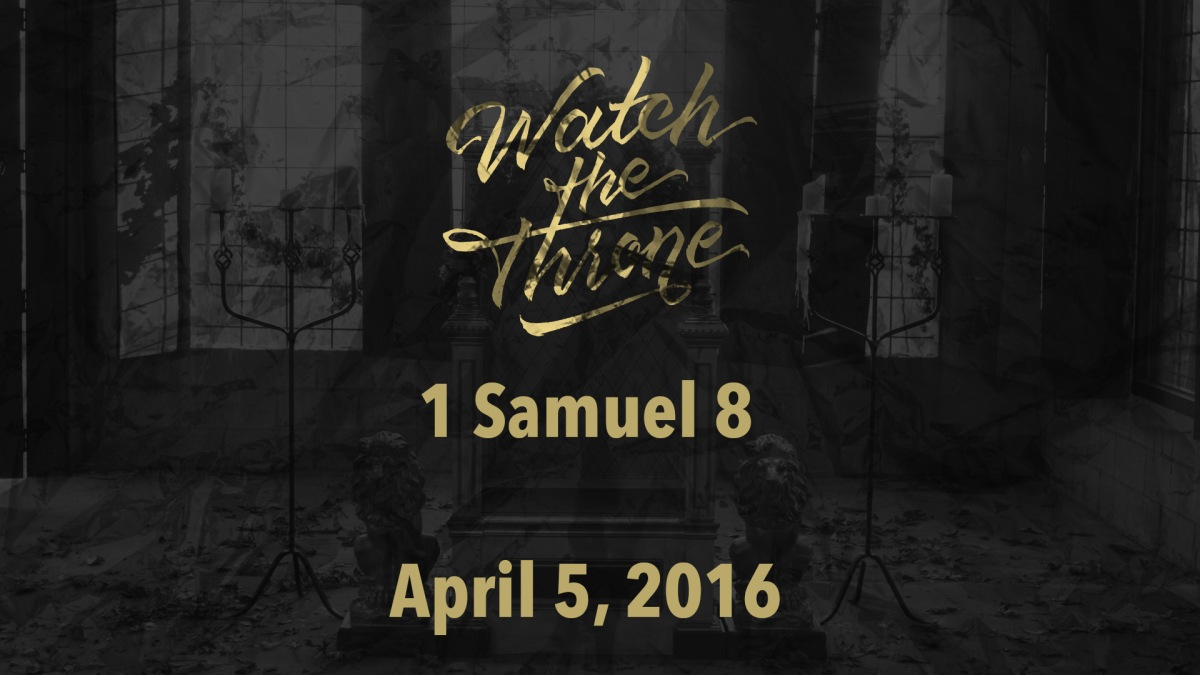 Watch The Throne Reading – April5
