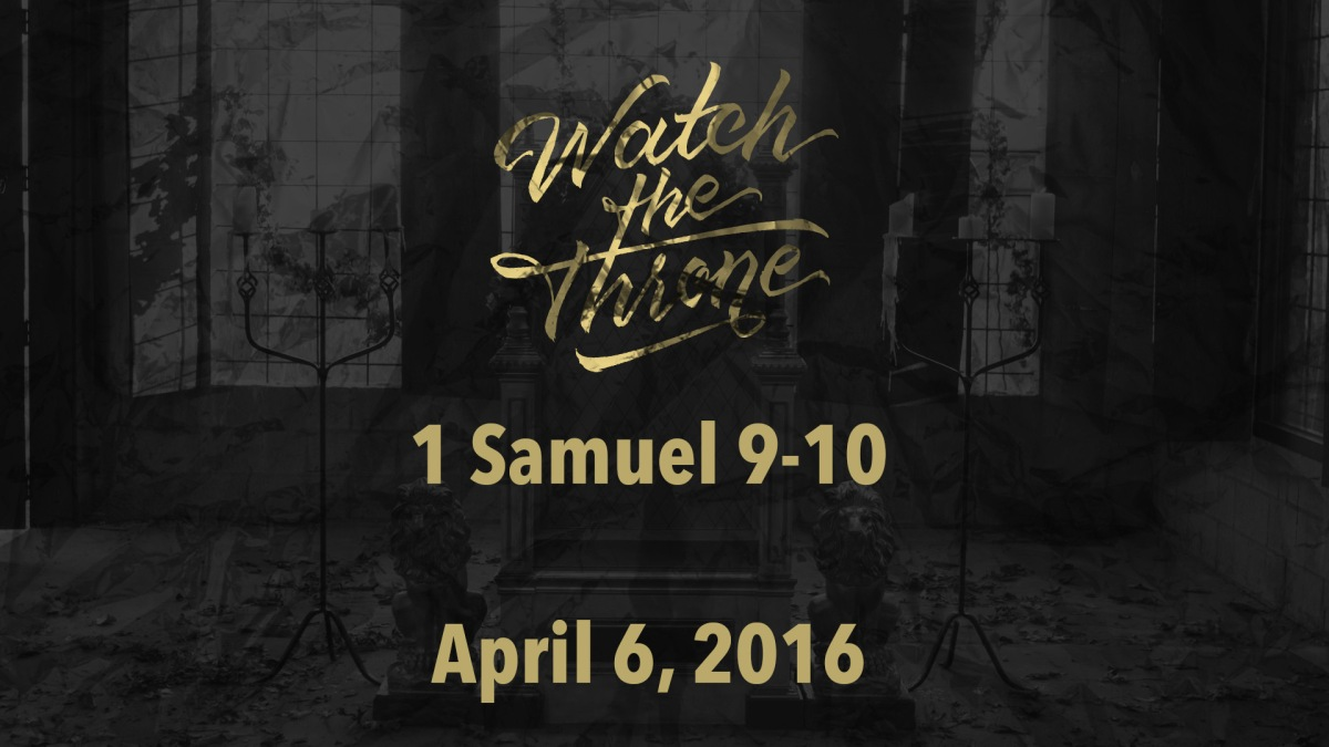 Watch The Throne Reading – April6